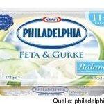 Philadelphia Feta und Gurke Balance