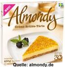 Almondy Creme Brulee Tarta