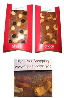 Schokolade selbst gestalten mit Chocri