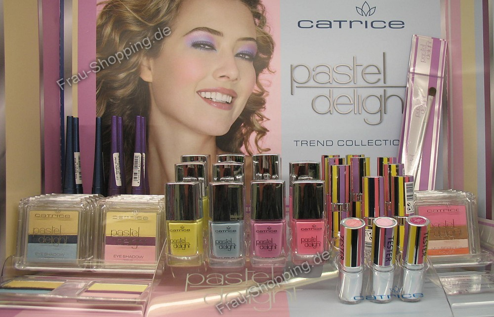 Catrice Pastel Delight Limited Edition Aufsteller