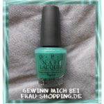 "Gewinnspiel: OPI ""Jade is the New Black"""
