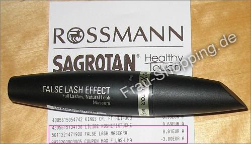 Max Factor Mascara: 3 Euro + 25% Rabatt bei Rossman