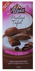 Alpia - Praliné Tafel Mousse au Chocolat