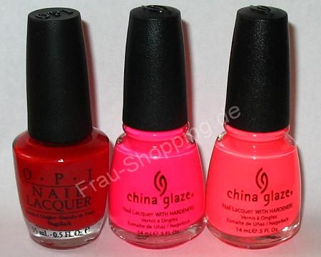 Die Post war da: OPI + China Glaze Nagellack