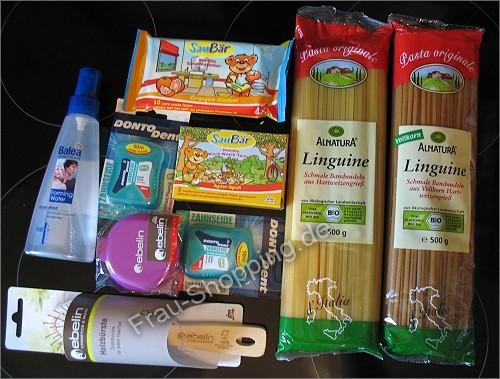Kleiner Einkauf bei dm Mai 2010
