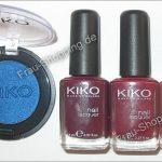 Einkauf bei KIKO: Lidschatten und Nagellack