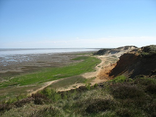 Das Morsumer Kliff auf Sylt