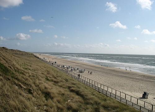 Strand von Westerland auf Sylt