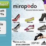 DailyDeal: 70% mit Gutschein bei mirapodo sparen