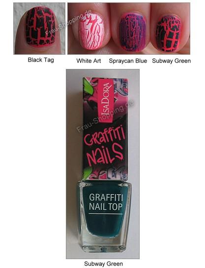 Isadora Graffiti Nails Subway Green