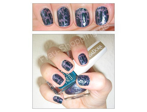 Isadora Graffiti Nails mit p2 171 gorgeous