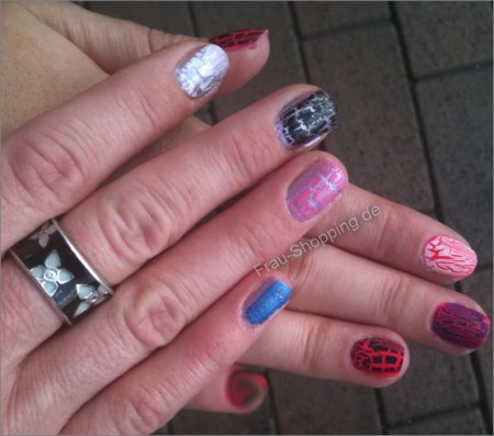 Isadora Graffiti Nails unsere Haende