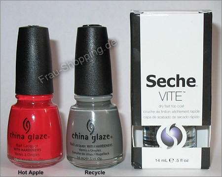 Seche Vite und China Glaze bei Amazon