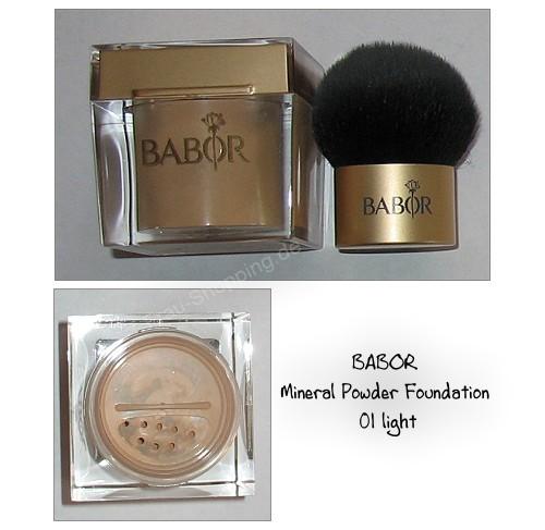 BABOR Mineral Poweder Foundation