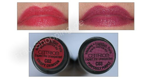 Catrice Expect the Unexpected Lippenstift Swatch