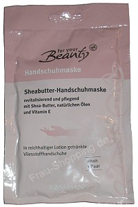 Rossmann For your Beauty - Sheabutter Handschuhmaske
