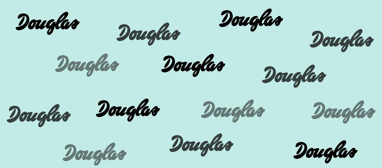 Aktuelle Douglas Codes