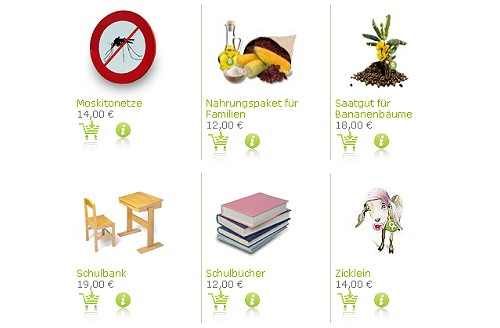 Mal etwas anderes verschenken - Oxfam unverpackt