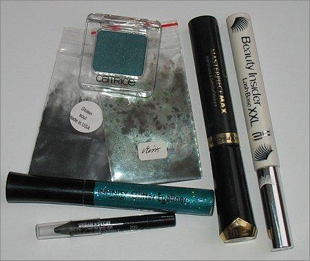 Verwendete Produkte für das zweite Weihnachtsamu