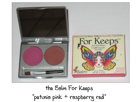 the Balm For Keeps Lippen Palette