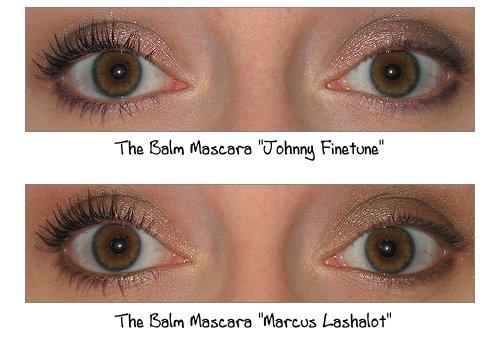 the Balm Mascara - Johnny FInetune und Marcus Lashalot im Vergleich