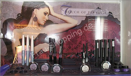 u.m.a. Touch of Paradise Limited Edition Aufsteller