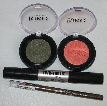 Produkte für das AMU mit KIKO Lidschatten