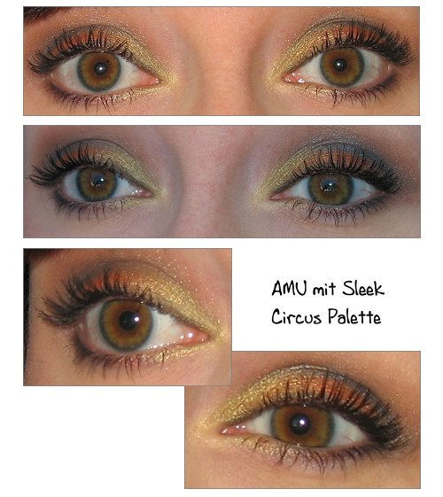 AMU mit Sleek Circus Palette