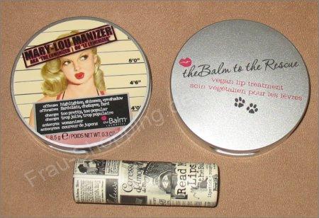 the Balm Bestellung ausgepackt: Mary-Lou Manizer, to the Rescue und Lippenstift Scoop
