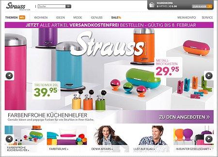 Strauss Innovation: Versandkostenfrei bestellen