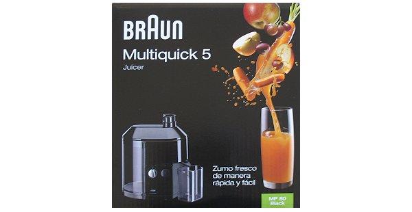Braun Multiquick 5 Entsafter ~ Entsafter Braun