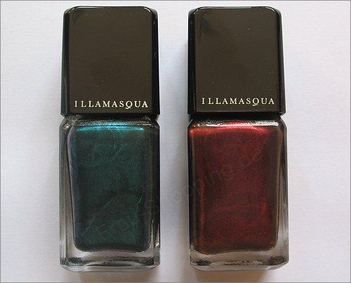 Illamasqua Art of Darkness Nagellacke Viridian und Scarab