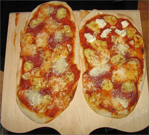 Möchtest du noch eine Pizza? Ja, aber nur eine Kleine!