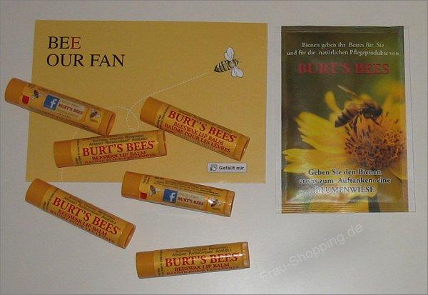 Burt's Bees jetzt mit deutscher Facebook Seite