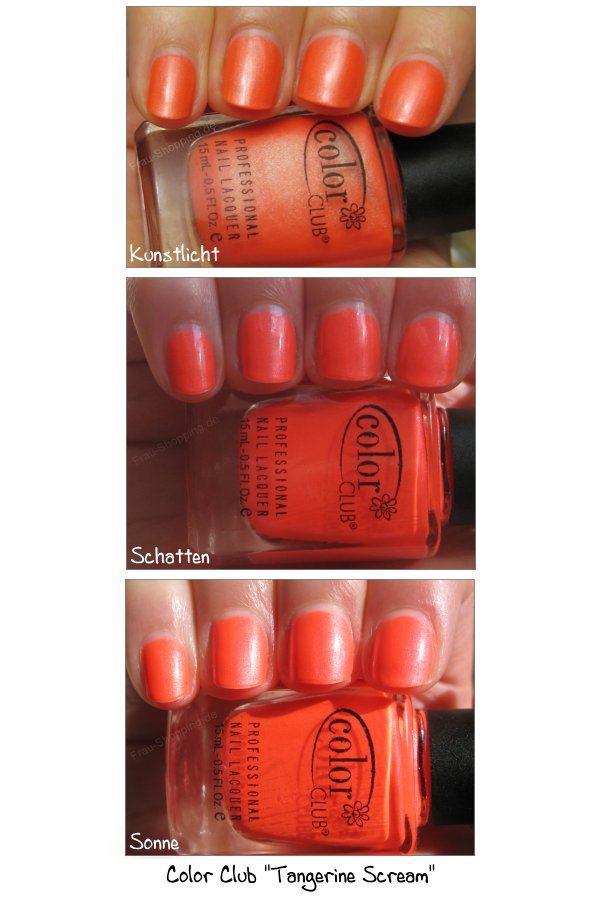 Color Club Tangerine Scream