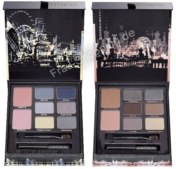 Catrice Big City Live Palette London und Berlin