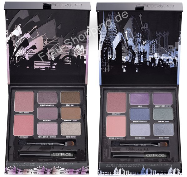 Catrice Big City Live Palette Sydney und New York