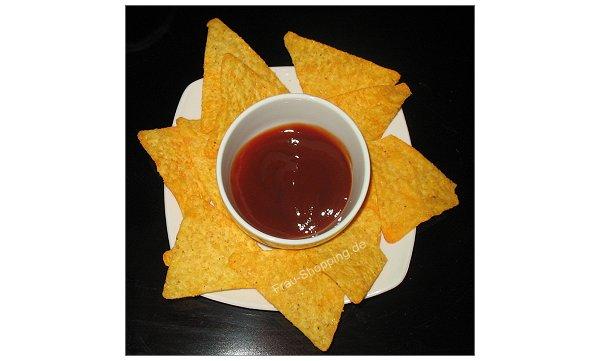 Heinz Tomato Ketchup mit Balsamico-Essig eigenet sich auch als Dip