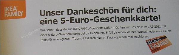IKEA Katalog 2012 mit 5 Euro Gutschein
