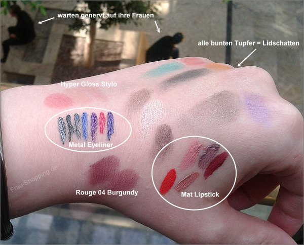 KIKO Chic Chalet Swatches