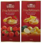Lambertz Fruchtkissen Erdbeere und Zitrone