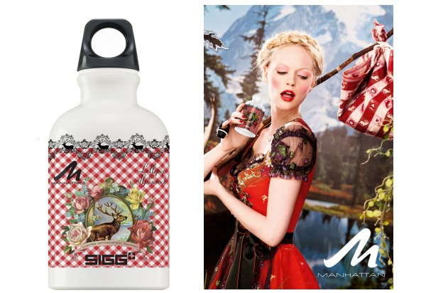 Manhattan loves Oktoberfest SIGG Flasche