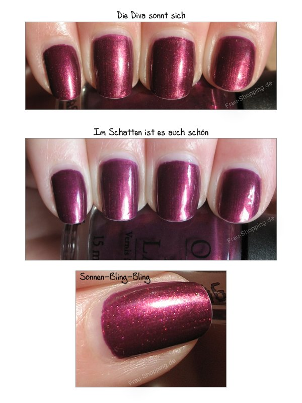 OPI Diva of Geneva Swatch