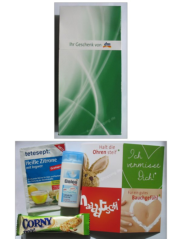 dm: Gratis Geschenk zu den Gesundheits-Wochen