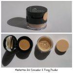 Manhattan 2in1 Concealer & Fixing Powder + Concealer Pinsel