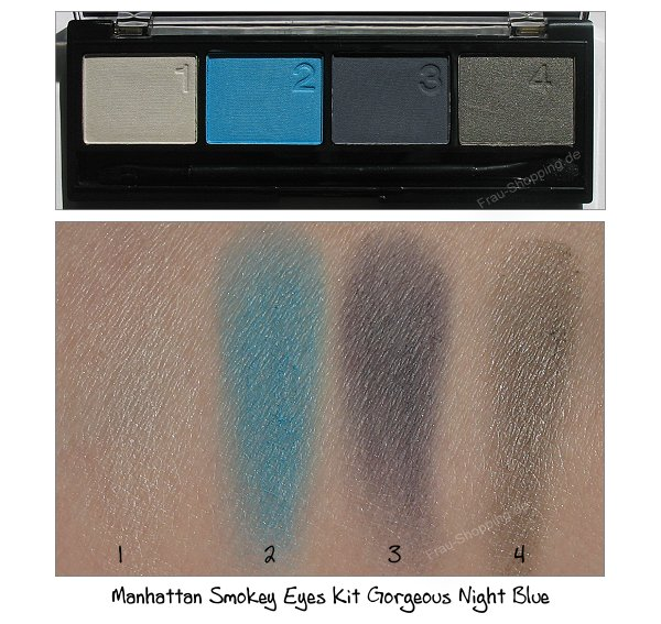 Manhattan Smokey Eyes Kit Gorgeous Night Blue