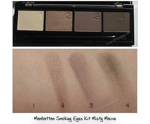 Manhattan Smokey Eyes Kit Misty Mauve