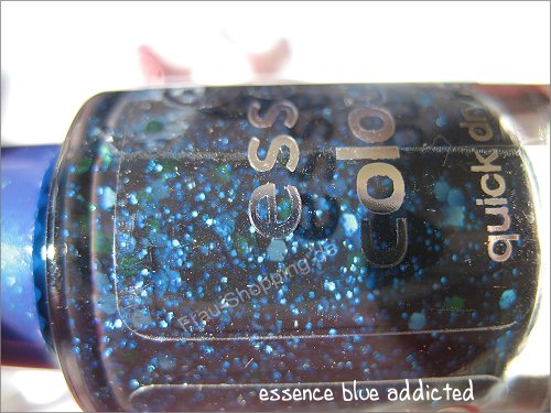 essence blue addicted