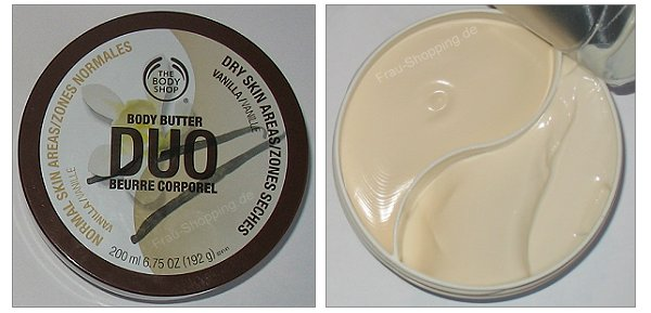 The Body Shop Duo Butter Vanille