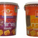 Brandt Micro Minis Mandel und Sesam Krokant